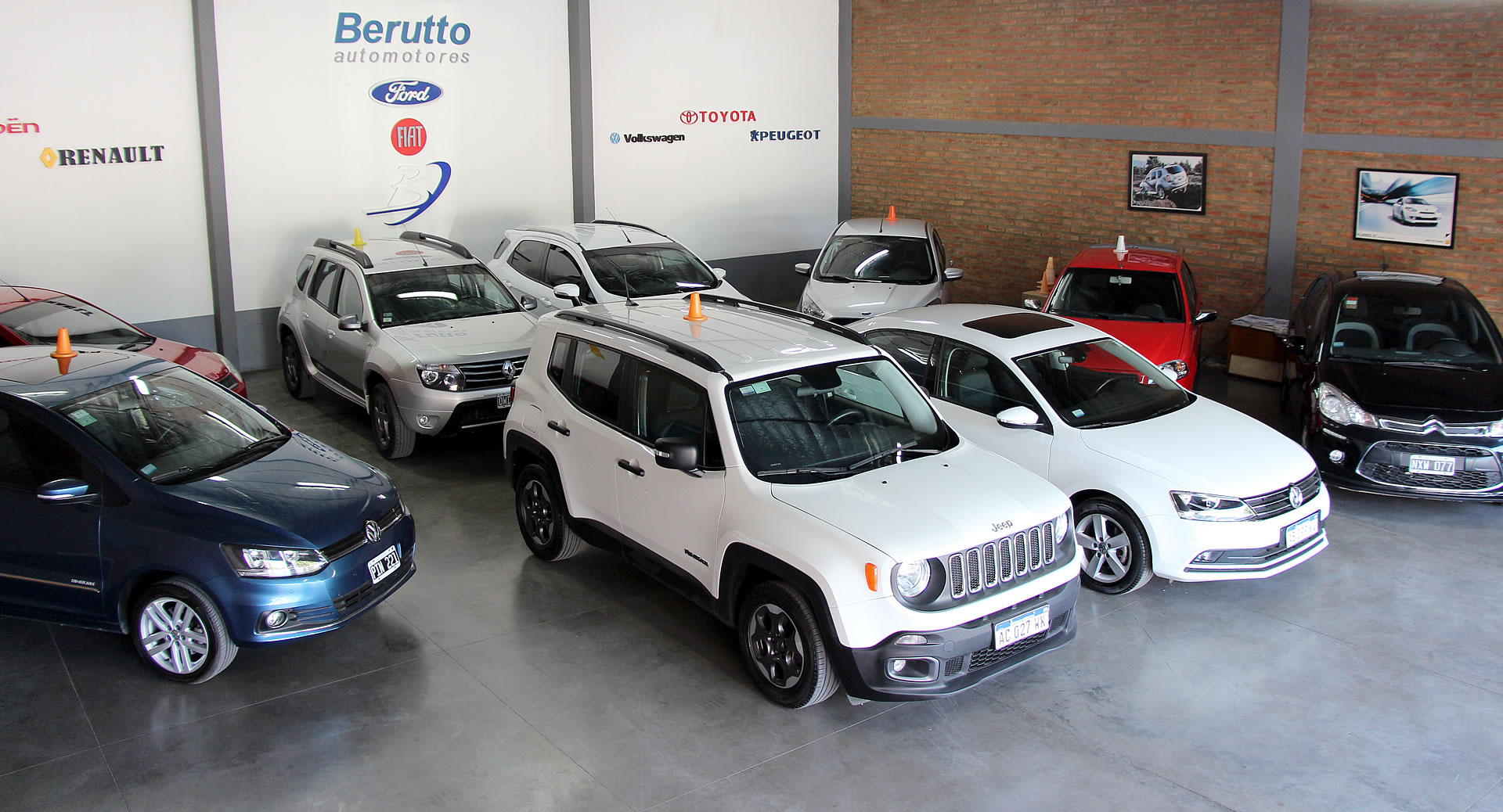 Berutto Automotores, foto del interior del local