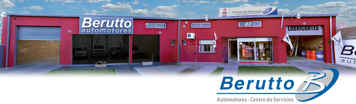 Berutto Automotores, foto del frente del local